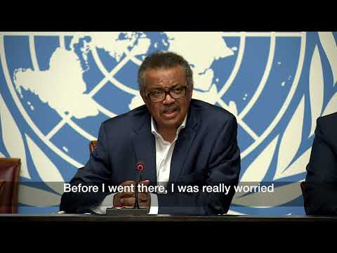 WHO\'s global and African Regional leadership saw first-hand the complexities of implementing the Ebola response in North Kivu in the Democratic Republic of the Congo in visits with the MInistry of Health officials to affected areas.  Following his return to Geneva,  WHO Director-General Dr Tedros briefed journalists in on the situation on the 14 August 2018.  For the latest information on the outbreak: http://www.who.int/ebola/en/