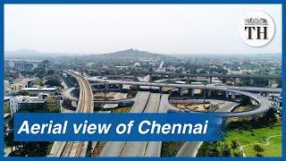 Janata Curfew: Aerial view of Chennai