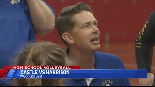 Castle volleyball opens up conference play with a win