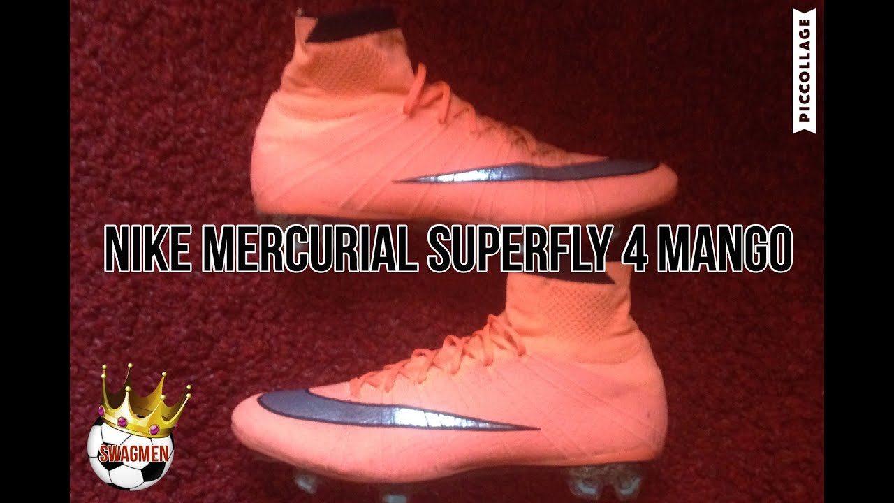 on sale dd677 3e64a NIKE MERCURIAL SUPERFLY 4 MANGO !!! BOOT REVIEW