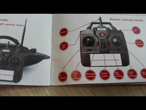 Flytec 2011-5 карповый кораблик. лодка для завоза прикормки. Обзор.  AliExpress