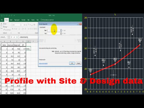 How to Create a profile in Auto cad with Lisp base on Actual
