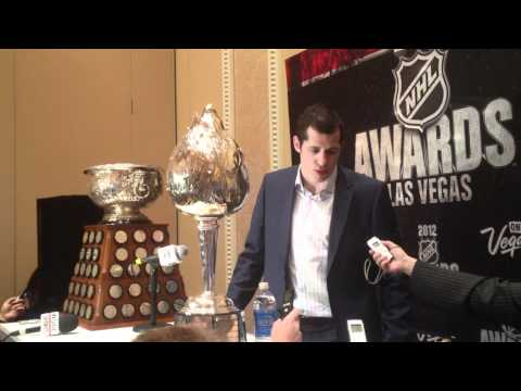 2012 NHL Awards - Evgeni Malkin  - Art Ross/Hart Trophy Press Conference