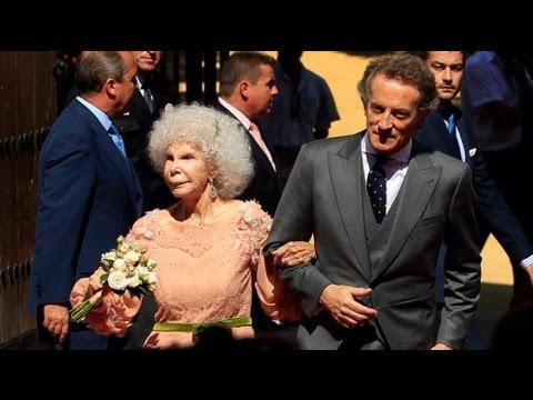 Sposa ad 85 anni la nobildonna più titolata al mondo