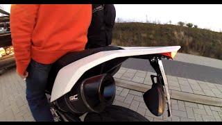 Freuen auf nächstes Jahr ! KTM SMC 690 First Ride [Drecksäcke] [GoPro HD Hero 3]