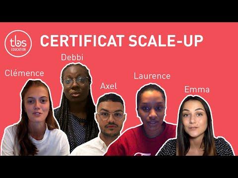 TBS - Nos étudiants vous parlent de notre certificat Scale Up !