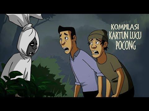 Kompilasi Pocong Lucu Jaman Now - Kartun Hantu Mawarosa
