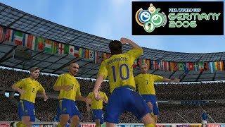 2006 FIFA World Cup PSP Playthrough - Zlatan Ibrahimovic VS World Cup 2006