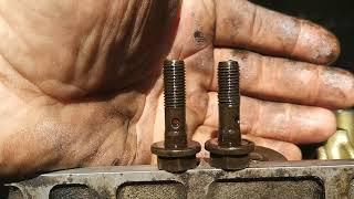 Правильная сборка ГБЦ и регулировка клапанов Renault logan 1.6 8 клапанов.