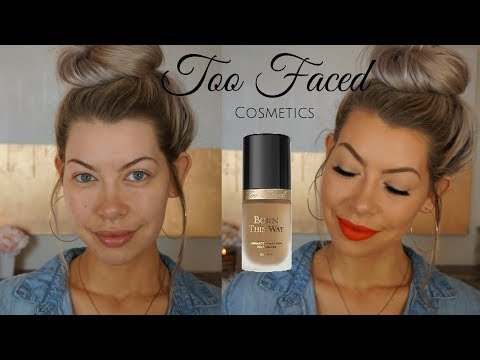 Too Faced Born This Way Foundation! OMG!