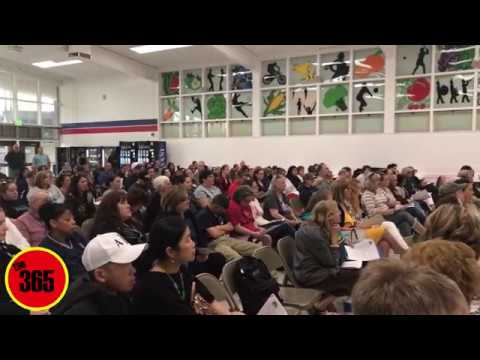 Day 76 The 365 Report April 25th, 2017 Oroville High School Merger Feedback Meeting
