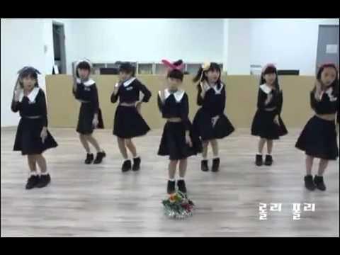 K POP COVER T ara   Roly Poly Dance By XX Dance School of Korea Kids Class