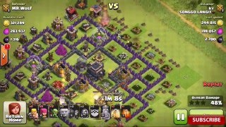 Clash of Clan : Cara Cepat Farming Dark Elixir di Town hall 9