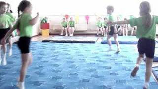 Спортивная гимнастика в детском саду