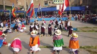 Danza Champeria de Huanza Euler 5to grado huaycan 2016