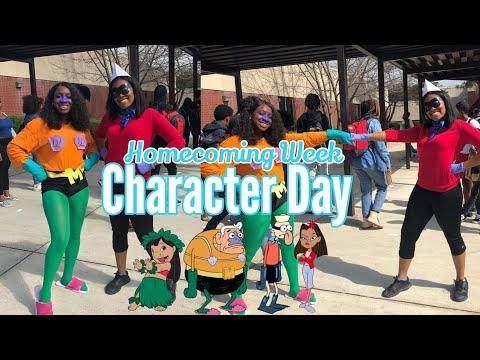 Homecoming Week: Character Day | Kristina Denise