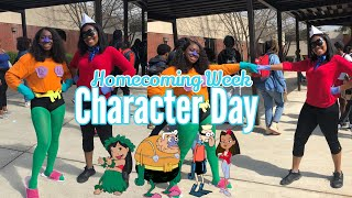 Homecoming Week: Character Day | Kristina Denise
