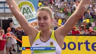 Dafne Schippers Wins Women's 100m Final FBK Games 2017