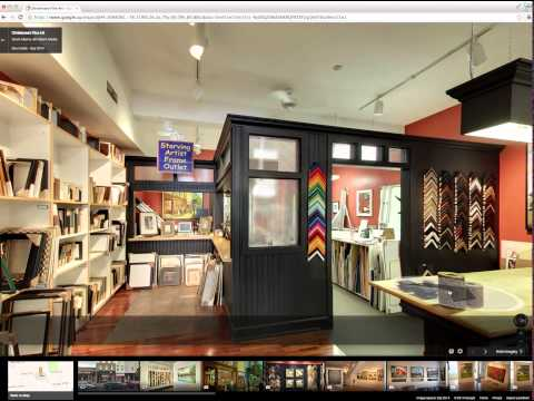 Google Business View with Peterborough's Christensen Fine Art