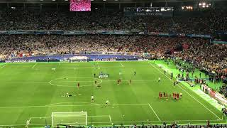 You'll never walk alone sung in Kiev for the champions league final 26/5/18