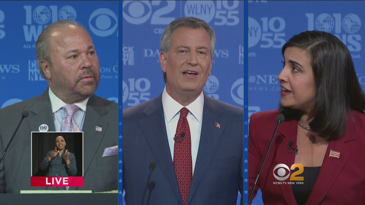 Download Final 2017 NYC Mayoral General Election Debate