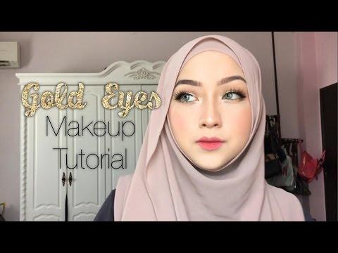 Gold Eyes Makeup Tutorial