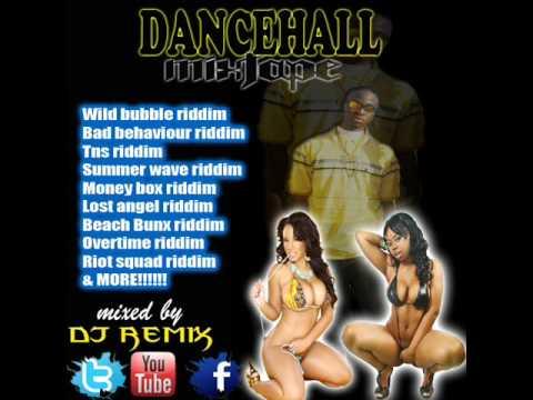 THE NEWEST & MADDEST DANCEHALL MIX 2012!!!!! Dj Remix- Wild bubble rid. money box rid., & more!!!