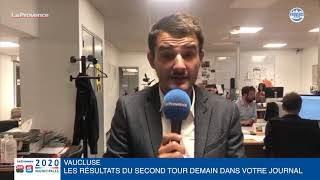 Municipales en Vaucluse : découvrez tous les résultats demain dans votre journal