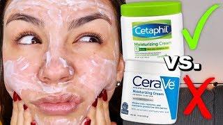 CETAPHIL OR CERAVE? Cerave Moisturizing Cream vs. Cetaphil Moisturizing Cream