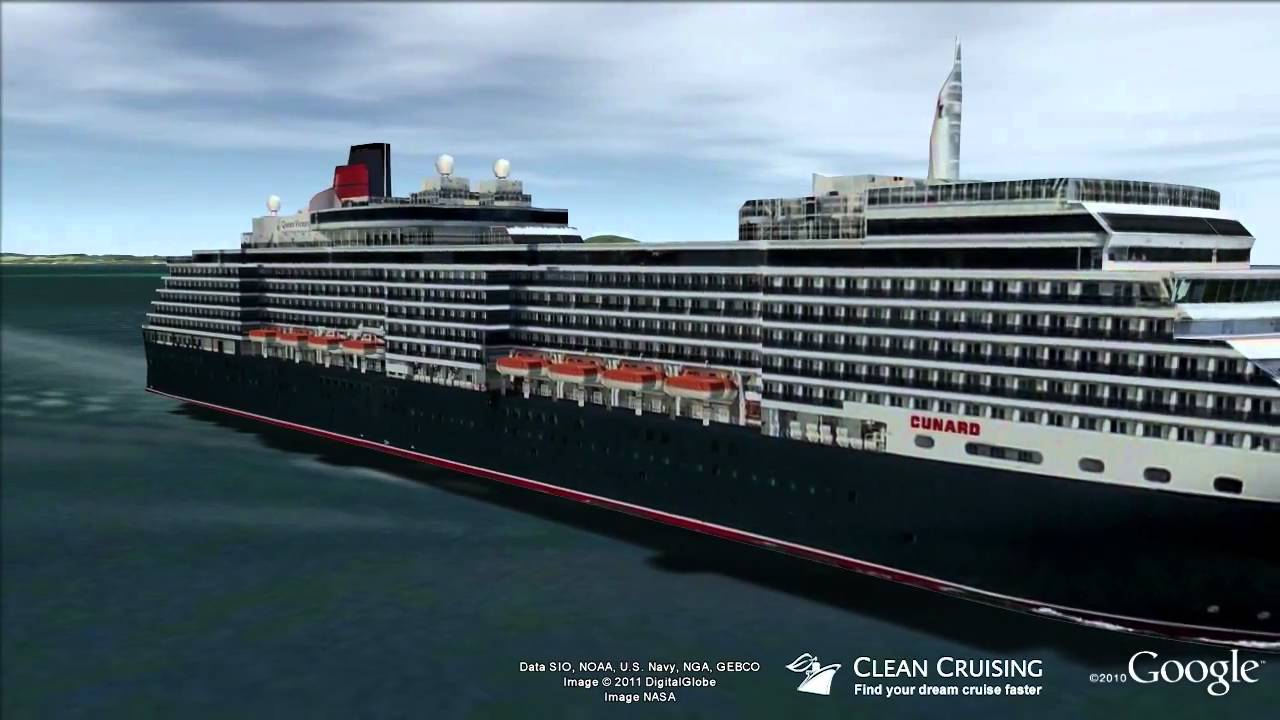 Queen Victoria Virtual Ship Tour YouTube - Tracking queen victoria cruise ship
