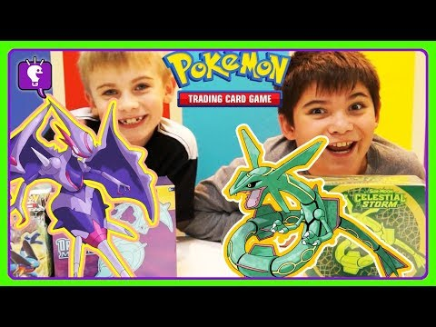 HobbyFrog's 1st POKEMON Elite Trainer Box! Card Game With HobbyKids