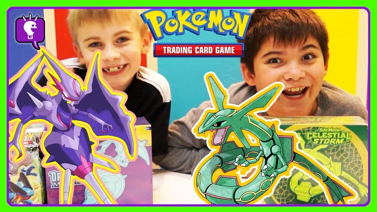HobbyFrogs 1st POKEMON Elite Trainer Box! Card Game with HobbyKids
