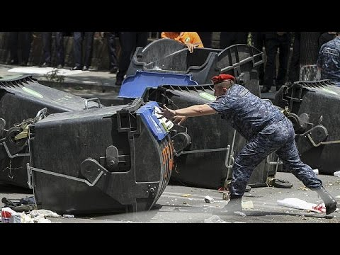 Armenia police clear 'electricity hike' protest camp in capital