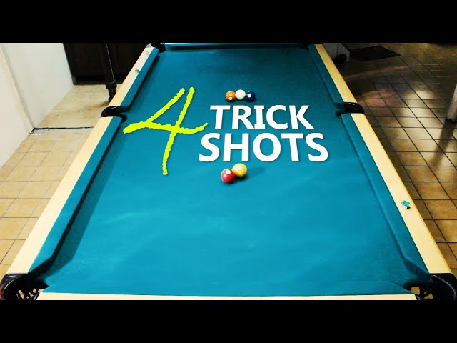 4 Pool Trick Shots: Volume 27