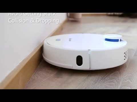 Alfawise V10 Max Laser Navigation Robot Wet and Dry Vacuum Cleaner Review Gearbest Price