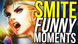 CAPTURE THE FLAG THE ANIME! (Smite Funny Moments)