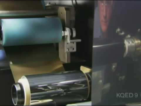 NanoSolar's thin film solar power