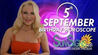 Birthday September 5th Horoscope Personality Zodiac Sign Virgo Astrology