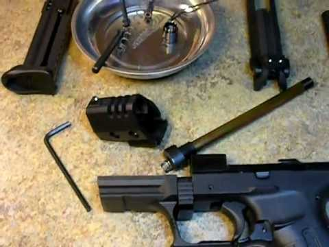 how to clean a walther p22
