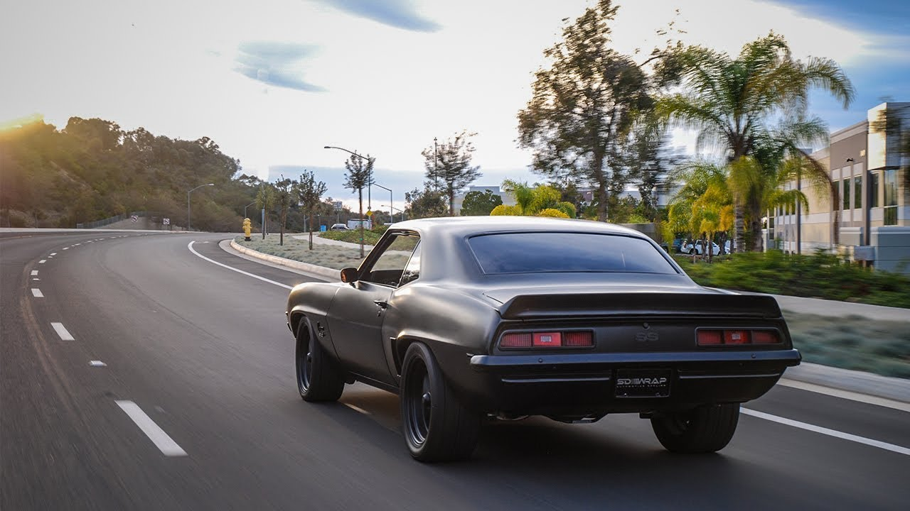 Insane Fully Built Murdered Out 69 Camaro Ss Its For Sale