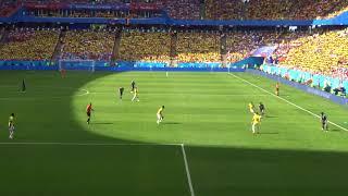 現地撮影[World Cup 2018]サランスクの奇跡! 日本代表vsコロンビア代表 ロシアワールドカップ Japan vs Columbia Saransk,Russia 2018/06/19