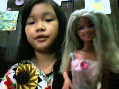 Ariana Grande Focus Hair Tutorial On Barbie Doll