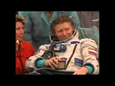 Soyuz TMA-16M Post-Landing - Crew Extraction (September 1, 2015)