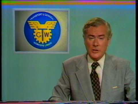 Granada ITV TV adverts and ITN News at Ten (1979)