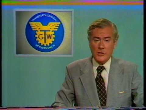 Granada ITV TV adverts and ITN News at Ten (1979)