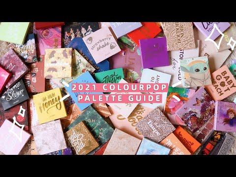 2021 COLOURPOP PALETTE