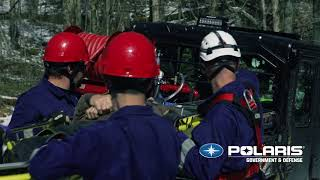 Off-Road Mobility with Polaris® Fire-Fighting & Rescue Equipment | Polaris Government & Defense