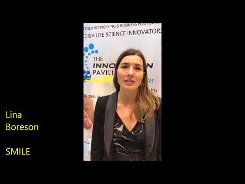 SMILE Incubator - an overview of The Innovation Pavilion by Sweden at Arab Health 2018