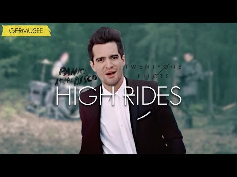 Twenty One Pilots & Panic! At The Disco - High Rides(Mashup/Video)