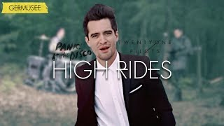 Twenty One Pilots & Panic! At The Disco - High Rides (Mashup/Video)